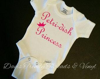 Petri dish princess-ivf-ivf baby