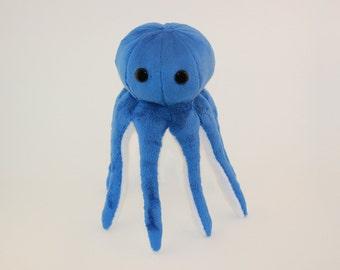 Octopus Plush Toy PDF Tutorial, Sewing pattern Tutorial