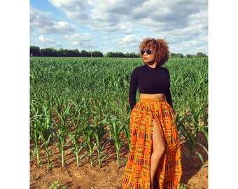 Kente Maxi with slit