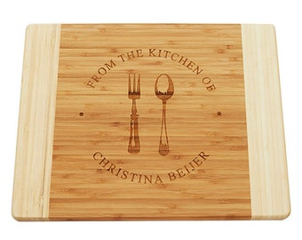 Personalized Cutting Board, Engraved Board, Housewarming Gift, Wedding Gift, Anniversary Gift, Engraved Cutting Board