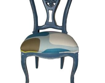 Greek blue Chair.