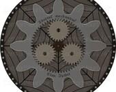 Warhammer 40K Clan Spider Coat of Arms Printable Digital Art Image