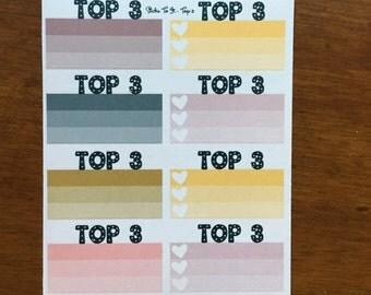 So Chic Build Your Own Kit Top 3 Erin Condren ECLP Mambi Inkwell Press Filofax Kikki K Happy Life Stickers Pink Gold Glitter Black Posh