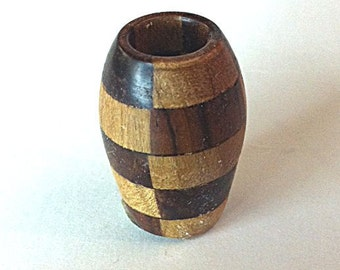 OOAK miniature laminated vase