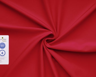 Arctic soft shell 3-layer fabric (red) - 0, 5 m