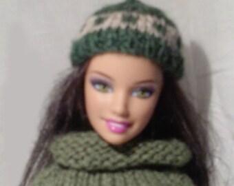 Cute beanie for Barbie