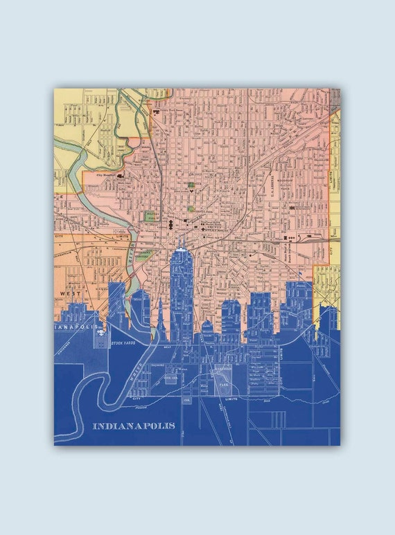 indianapolis skyline indianapolis decor indianapolis print home d 233 cor sell it again sam in home decor stores