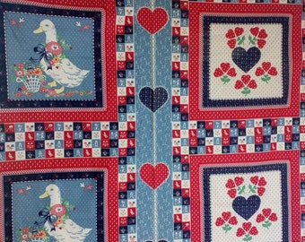 Panel # 194 Country Duck with FREE SHIPPING