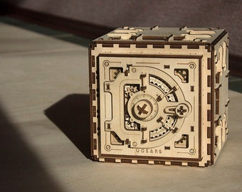 Ugears Ugears model Safe Mechanical 3d Puzzle …