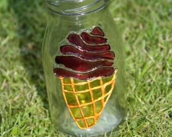 Ice Cream Cone in a bottle