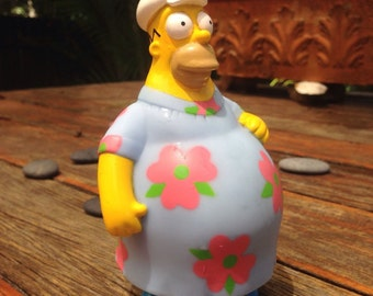 SALE 50% OFF!! The Simpsons Homer Simpson Moo Moo Toy Doll Burger King Collectable