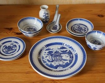 Chinese porcelain vintage Dinnerware set