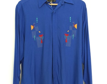 Men's Dress Shirt INNOCENT Memphis group style