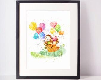 Printable Kids Gift, Nursery Decor, Kids Room Decor, Baby Gift, Baby Wall Art
