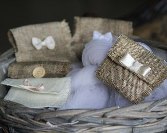 Raw cotton bags