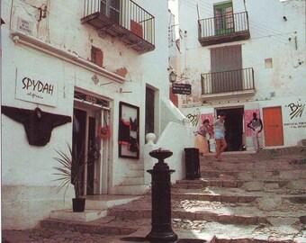 Vintage Unused of Eivissa in the Mediterrean Sea Post Card