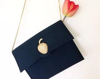 20% off using coupon! vintage silk handbag/bag