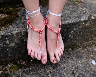 "Barefoot sandals ""Distant Love"""