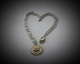 Family Stainless Steel Necklace