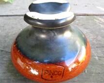Vintage PINCO Saddleback Ceramic Insulator Porcelain Insulator Corp.