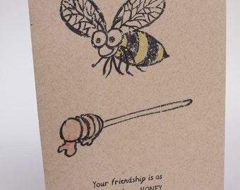 Greeting Card- Sweet as Honey