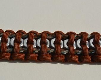 Brown hex nut collar
