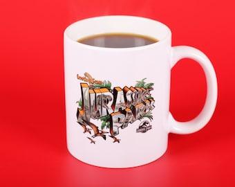 Jurassic Park Greetings From Souvenir Mug