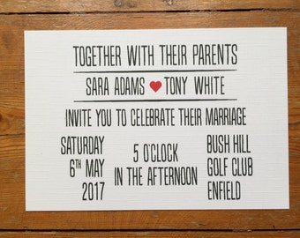 Simple, elegant, simple save the date