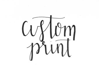 Custom Print (small)