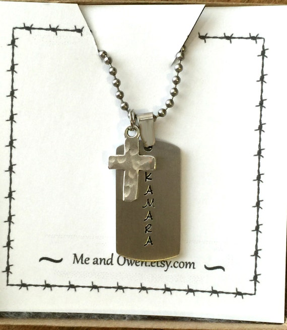cross necklace for boys personalized chunky style cross