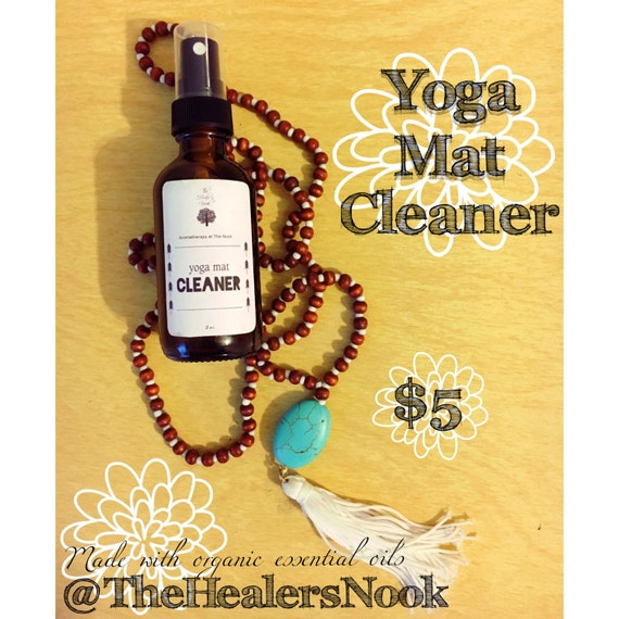 Yoga Mat Cleaner Aromatherapy Essential Oils By AtTheNook