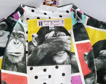 "Cotton ""Monkey"" Bolero Jacket"