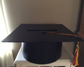Graduation Hat Card Box