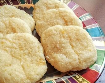 Soft Gluten-Free / Dairy-Free Meyer Lemon Sugar Cookies