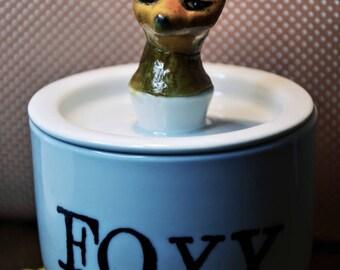 Foxy Fox Jar