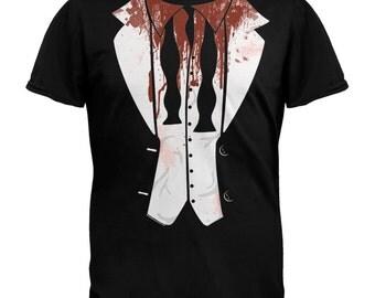 Halloween Zombie Tuxedo T-Shirt