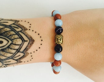 Earth and Sky Buddha Wrist-Hugger