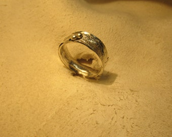 Carneval of life. Sterling ring Size 10