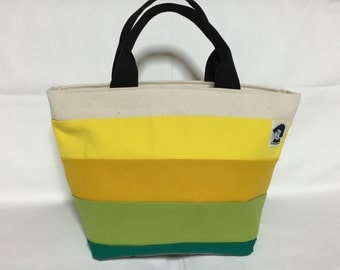 Canvas Totebag with Zipper