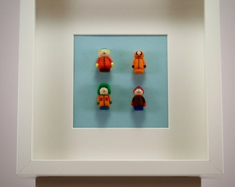 South Park characters  picture 25 by 25 cm