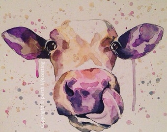 Happy Cow Print