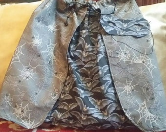 Reversible Halloween Cape for Young Child