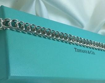 Tiffany & Co Heart Link Bracelet
