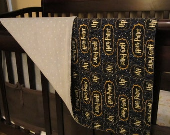 Unique harry potter crib bedding related items etsy - Harry potter crib set ...