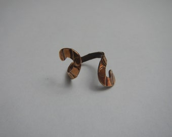 Simple Spiral Bronze  Ring