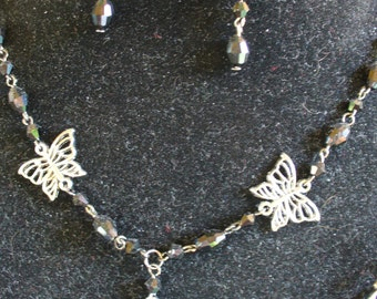 Handmade Butterfly Necklace