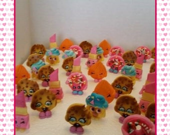 Shopkins Edile Cupcake Toppers 12