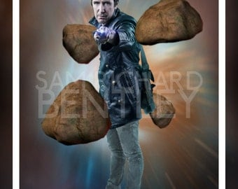 Doctor Who - Portraits of the Doctor - Eighth Doctor - Print