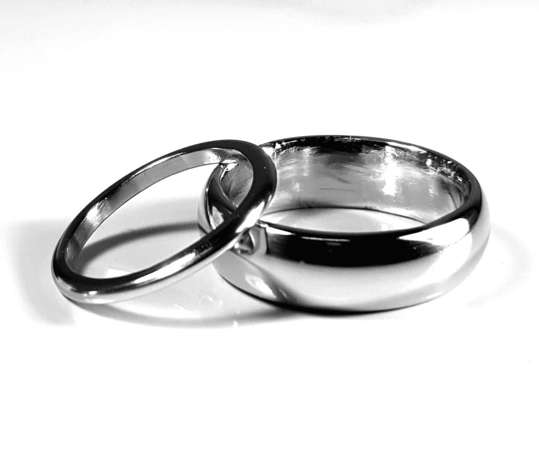 Iridium Wedding Bands