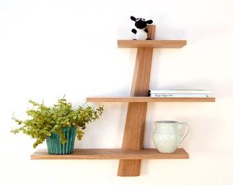 "Shelves in oak, Modern Danish Design ""Amagerhylde"""